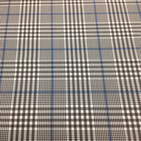 Yarn Dyed Poly Rayon Stretch Plaid Fabric for Women′s Wear pictures & photos
