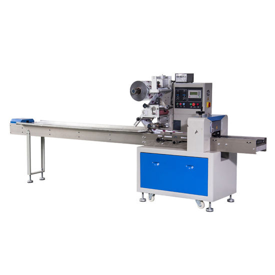 Horizontal Flow Biscuits Packing Machine pictures & photos