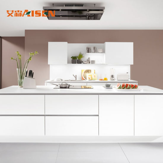 China 2018 Modern 2PAC Lacuqer Kitchen Cabinet for Australia