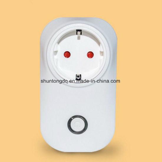 Wi-Fi Bluetooth Indoor & Outdoor Smart Plug for Apple Homekit with Alexa  Control Electronics