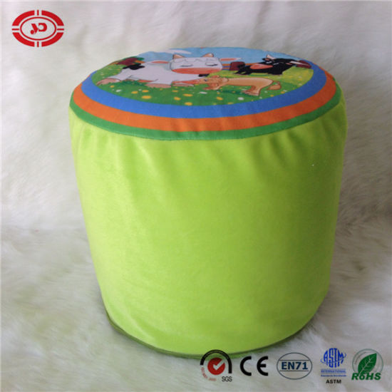 Inflated Baby Cushion Plush Funny Toy