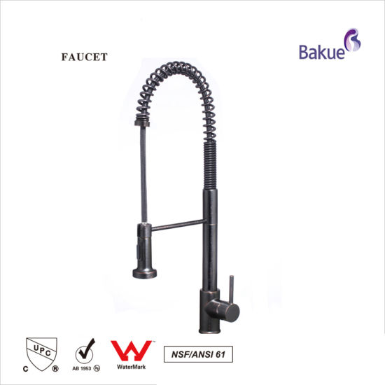 Flexible Pullout Kitchen Faucet, Tap with Watermark Certification