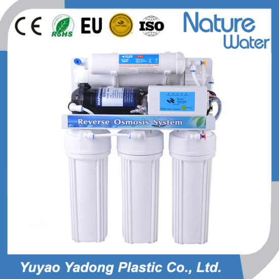 5 Stage RO System Water Filter with 5 Lamp Display