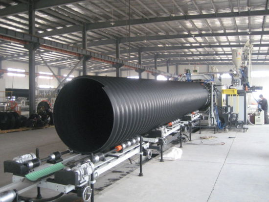 Steel Strengthen Corrugated PE Pipe for Underground Sewer