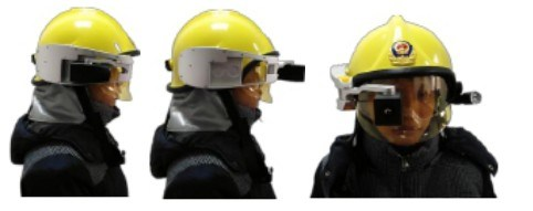 X5 Helmet Type Infrared Thermal Imaging Detection System