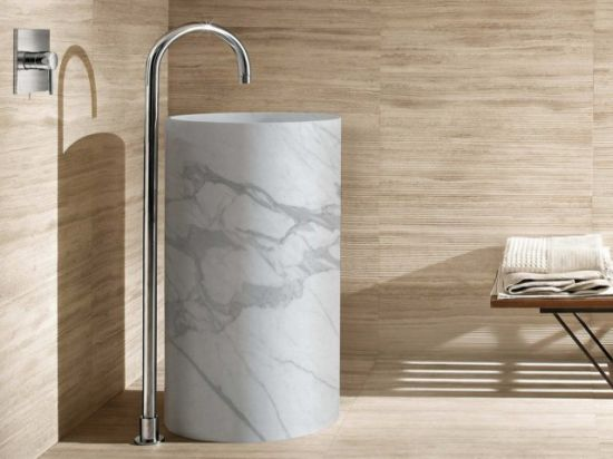 New Italian Countertop Wash Hand Bathroom Sink