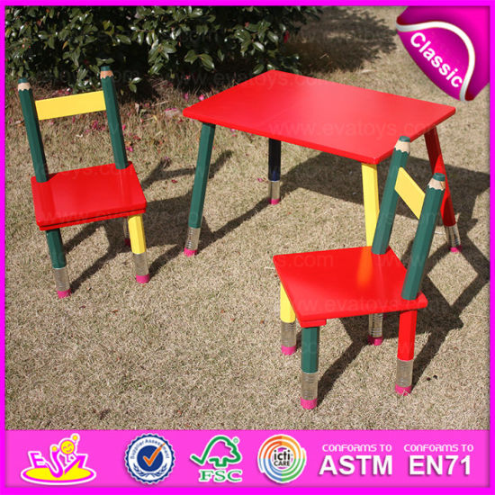 Exceptional 2015 Excellent Quality Cheap Folding Kids Pencil Table And Chairs, Cartoon  Pencil Used Children Table And Chair Wholesale Wo8g138