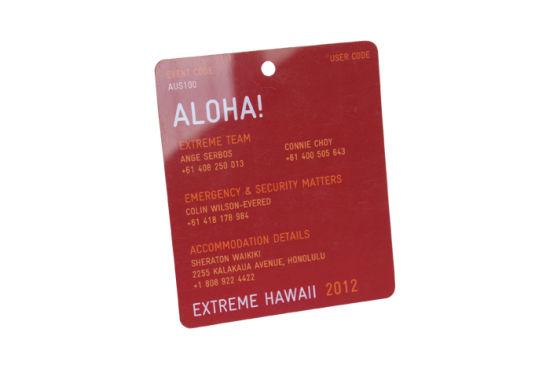 Custom Printed PVC Access Control Smart RFID Card with Magnetic Strip Hotel Key Card