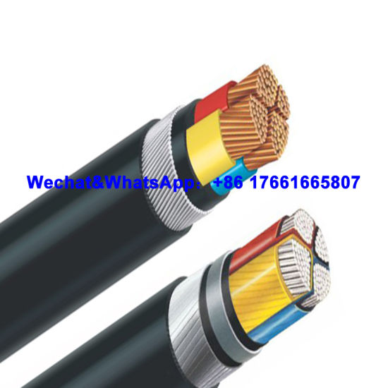0.6/ 1kv Cu/XLPE/ Swa/ PVC Power Cable with IEC Standard