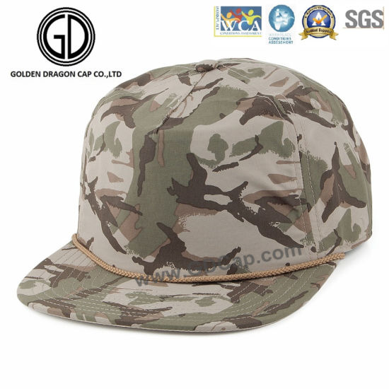 High Quality Camo Snabpack Cap pictures & photos