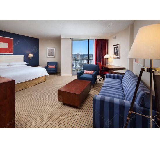 Modern Artistic Style Wooden Hotel Bedroom Furniture Sets for Sale