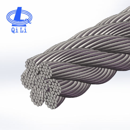 Best Price 6mm AISI 304 Cable 7X19 Stainless Steel Wire Rope