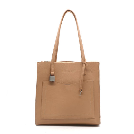 7aa485210e New Trendy Classic Design PU Leather for Woman Tote Handbags pictures    photos