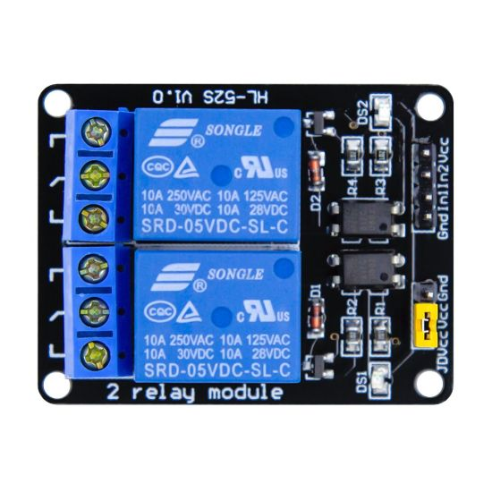 Arduino Raspberry PI ARM AVR DSP PIC 5V 2 Channel Relay Module AA025