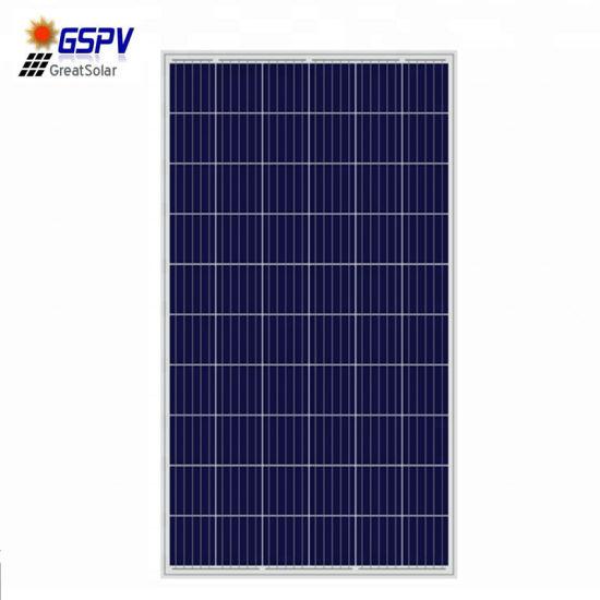 25 Years Long Warranty 260W 270W 280W Solar Panel Polycrystalline