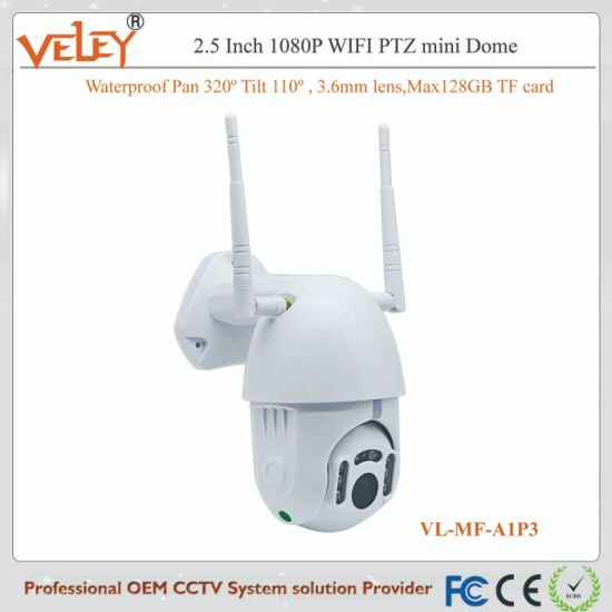 Network PTZ Mini IP WiFi Camera CCTV Wireless Camera Suppliers pictures & photos