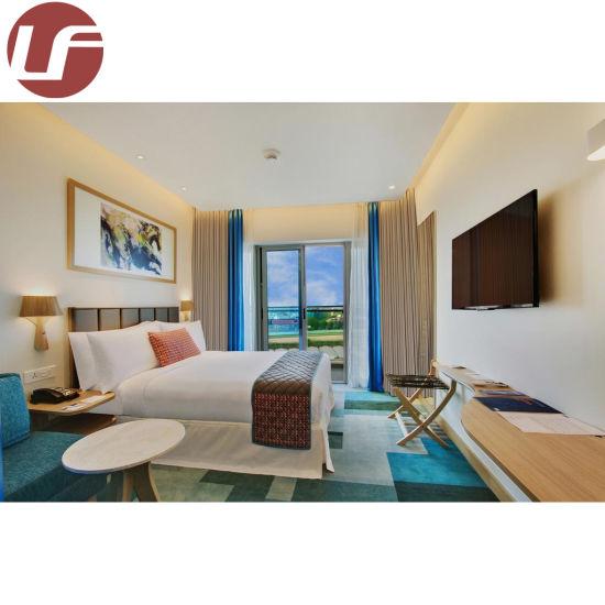 Newest Designed Wood King Size Beds Bedroom Set