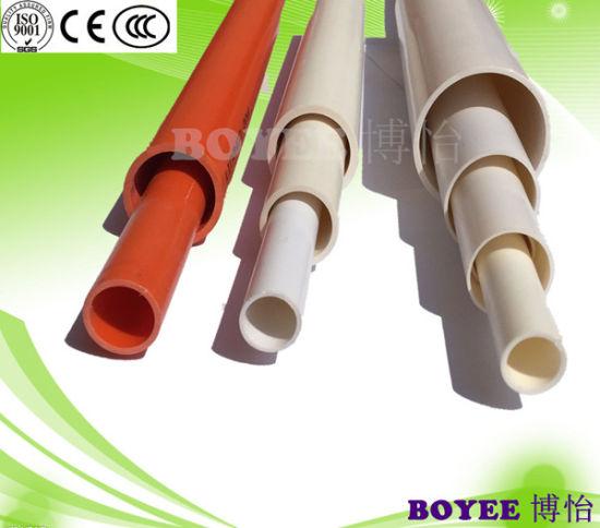 China Pvc Electrical Wiring Black Conduit Pipe China Pvc Conduit Cable Conduit