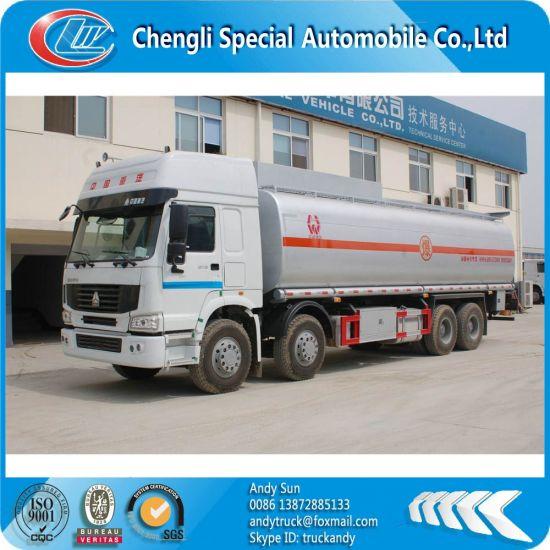 HOWO 8X4 30000L Fuel Tank, Fuel Tank Truck, Oil Tank Truck