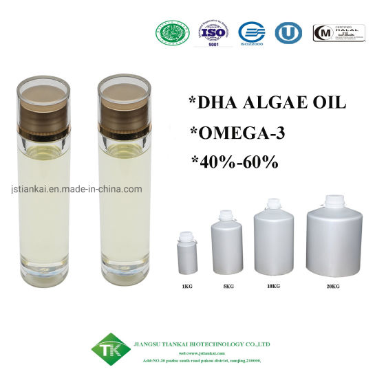 Natural Food Ingredient 40% Algae Oil for Healthcare Products pictures & photos