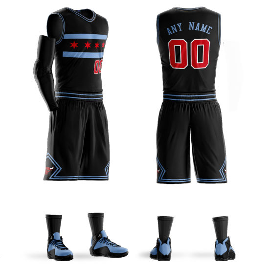 Custom Colour Design Mens Basketball Jersey Suit Uniforms Good Price