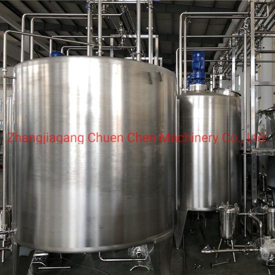 Food Grade Stainless Steel 304 Juice Mixing Machine / Flavor Beverage Mixer Equipment