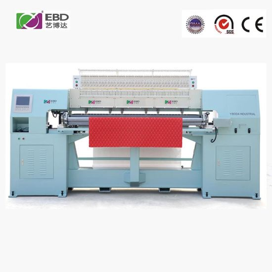 Ybd70-2 High Speed Computer Rotary Shuttle Multi-Needle Quilting Machine with Large Hook, Low Noise Operation