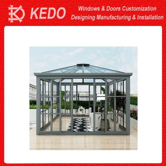 China Free Standing Beautiful Outside Insulating Sun Room Sunroom Glass House China Insulating Sun Room Sunroom Glass House Beautiful Outside Prefabricated Sun Room