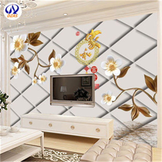 As Mc Large 8d Seamless 5d Bump Wall Painting 3d Embossed Flower Modern Minimalist Jewelry Tv Background Wall Murals