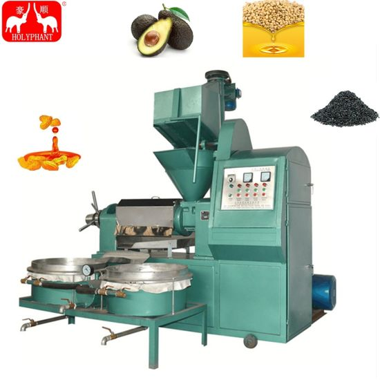 Automatic Peanut Jatropha Sunflower Hemp Soybean Combined Oil Press Oil Mill Oil Extraction Machine