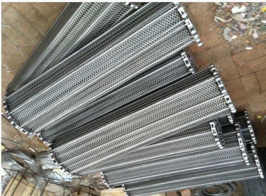 Stainless Steel Conveyor Chain Belt for Conveyor Equipment pictures & photos