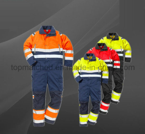 High Visibility Reflective Safety Work Wear