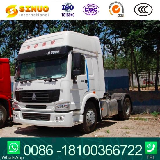 290HP Sinotruk HOWO 6X Tyres Horse Tractor Truck Heavy Duty Truck Trailer Head Tractor Head Truck