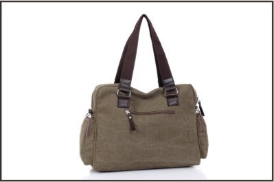 Biservice Earth Yellow Canvas Lady′s Messenger Bag pictures & photos
