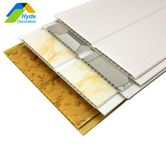 2019 Home Decor Techos En PVC Panels Waterproof Plastic False Ceiling DC-1059