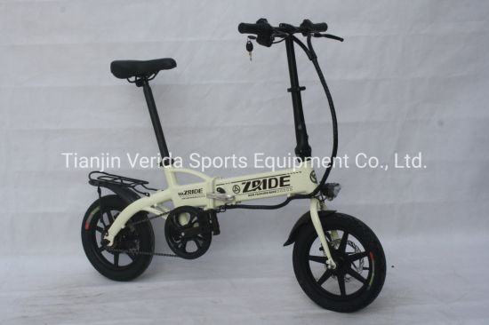 14*10 Inch Aluminium Alloy Electric Folding Bike pictures & photos