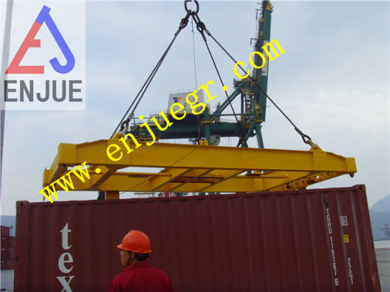 Manual Operated Container Lifter Spreader with ISO BV CCS Certificated Manufacturer pictures & photos
