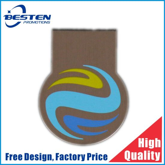 Wholesale Cheap Metal Bookmark Clip Custom Logo Metal Paper Clip