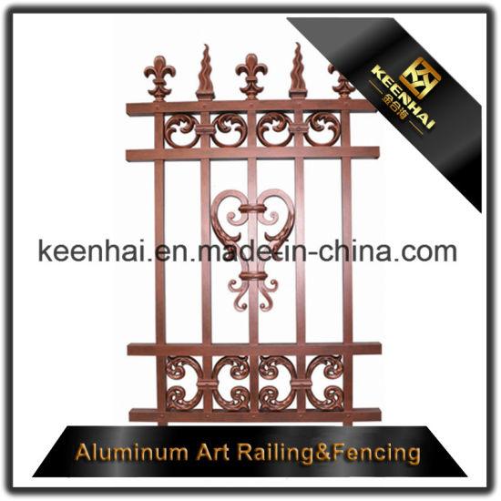 Decorative Aluminum Metal Fence Ornaments for Garden