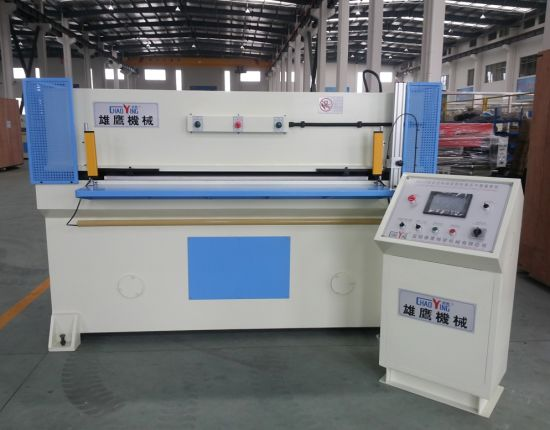 PLC 150t Auto-Feeding Plane Felt  Cutting Press pictures & photos