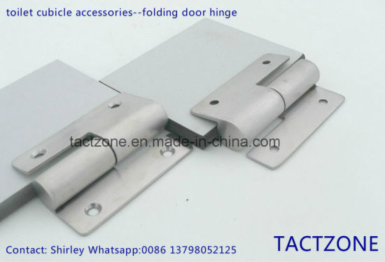 China Best Sales Toilet Partition Cubicle Accessories Steel Door - Bathroom partition hinges