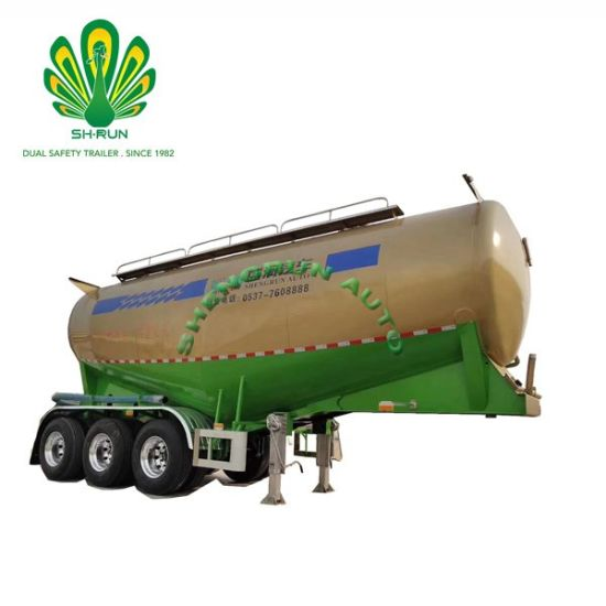 V Type Utility 45-65cbm Bulk Cement Tank Semi-Trailer pictures & photos