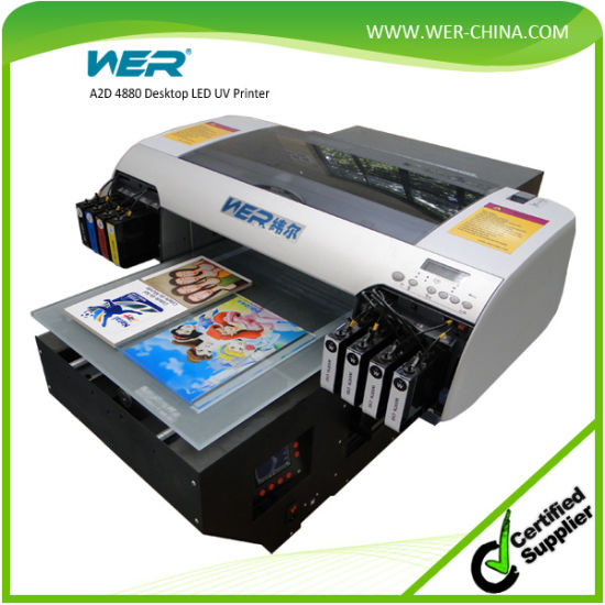 China A2 Digital Low Cost Uv Flatbed Printer Glass