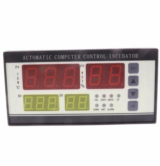 Xm-18 Four Screen Four Display Automatic Incubator Controller Incubator Thermostat with Temperature and Humidity Detectors pictures & photos