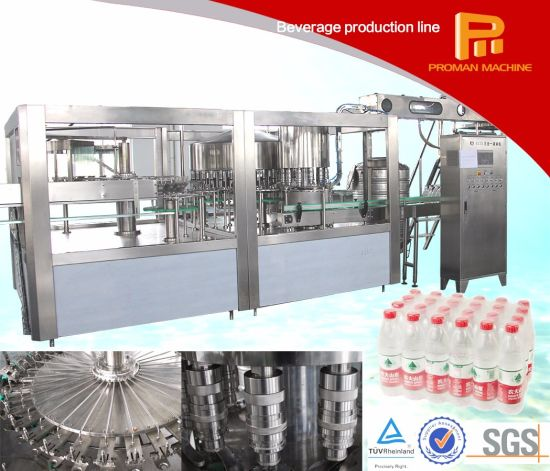 2019 Factory Low Price Bottle Beverage/Soft Drink/Water Mineral Pure Water Liquid Filling Automatic Bottling Machine