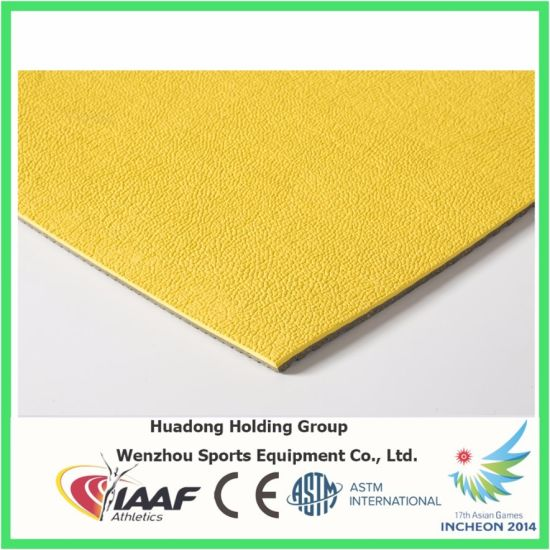 Synthetic Volleyball Court Flooring, Rubber Flooring, Rubber Mat pictures & photos