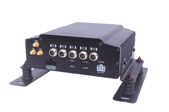 4CH HDD Mobile DVR System Support GPS, 3G/4G, WiFi pictures & photos