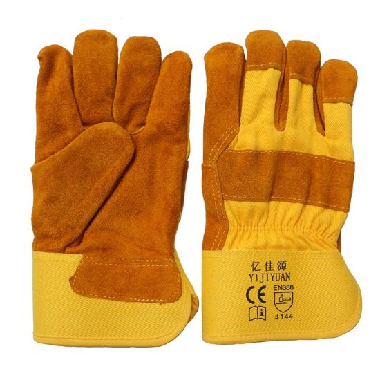 Thinsulate Full Lining Winter Warm Leather Labor Gloves pictures & photos