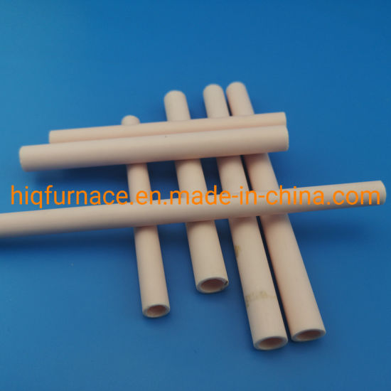 High Purity 99% Alumina Al2O3 Corundum Ceramic Tubes, Industrial Ceramic Tube High Purity Magnesium Oxide Tube