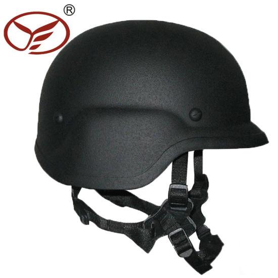 Nij Iiia Pasgt/M88 Aramid/PE Military Combat Bulletproof Helmet